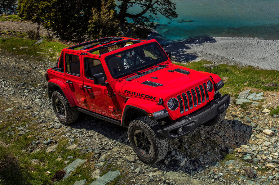 Jeep Wrangler (JL) Unlimited Rubicon 2018 review offroad front