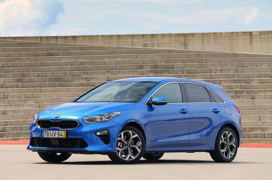 Kia Ceed 2018 first drive review static front