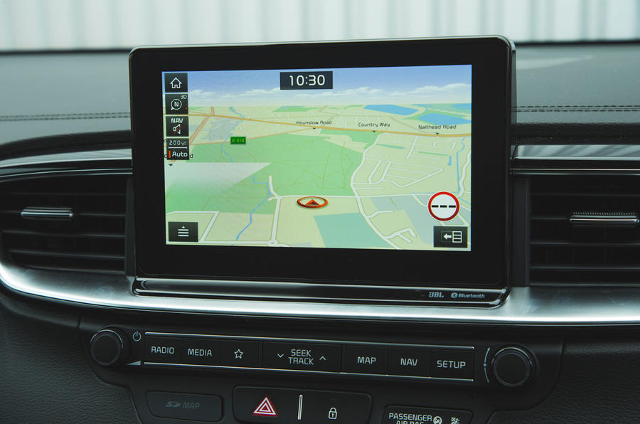 Kia Ceed 2018 long-term review - satnav