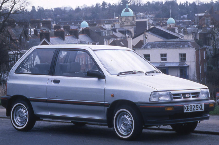 Kia Pride - static front
