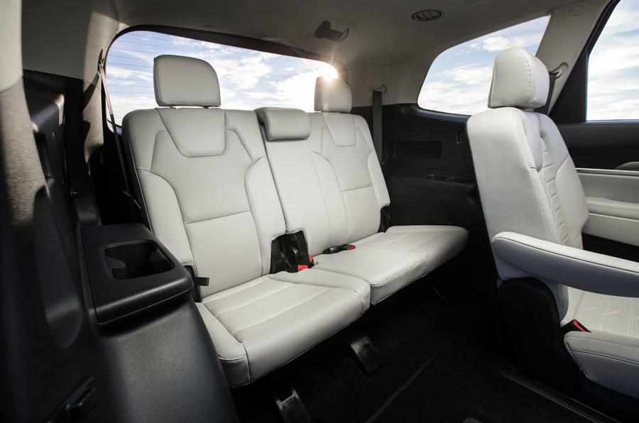 Kia Telluride 2019 first drive review - back row