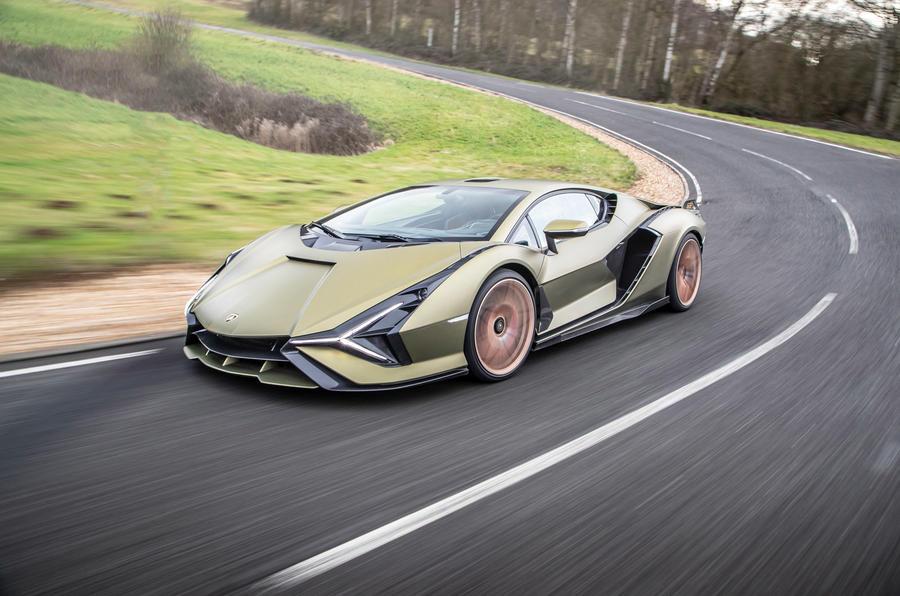 14 Lamborghini Sian 2021 : premier examen de conduite au Royaume-Uni