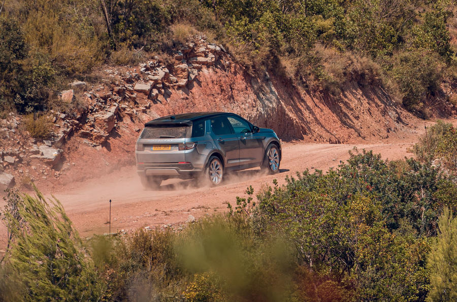Land Rover Discovery Sport 2019 first drive review - on the road side