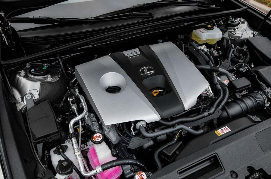 Lexus ES 2019 first drive review - engine