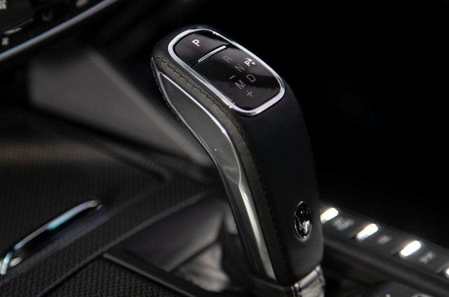 Maserati Levante GranSport V6 2018 first drive - gearstick