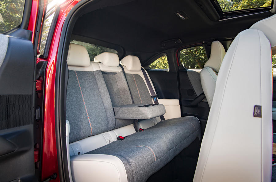 Mazda MX-30 2020 UK first drive review - rear seats