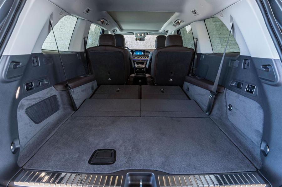 Mercedes-Benz GLS 400D 2019 first drive review - boot
