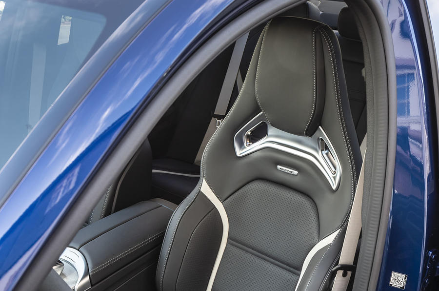 Mercedes-AMG C63 2018 first drive review front seats