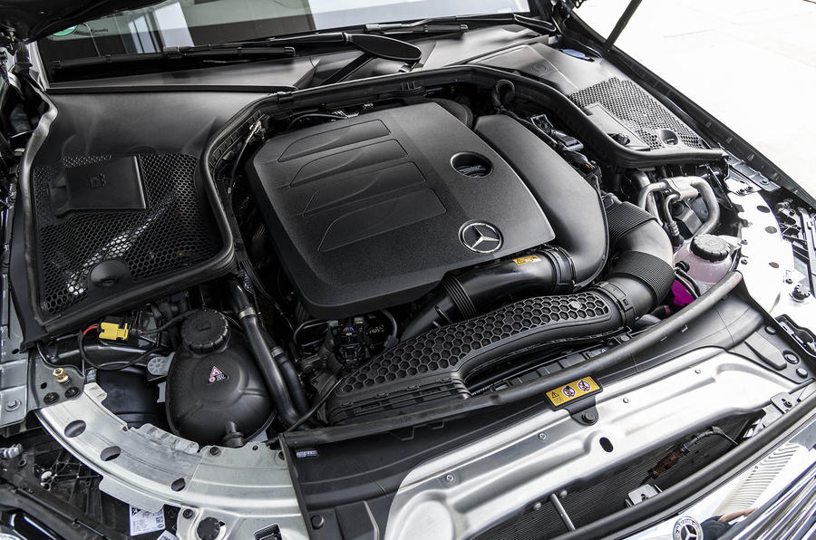 Mercedes-Benz C-Class C200 2018 review engine