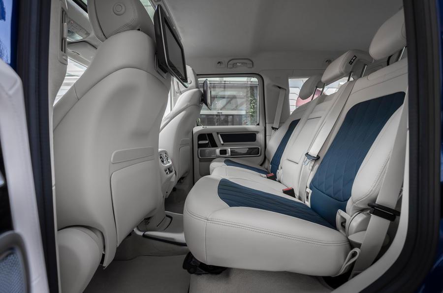 Mercedes-Benz G400d 2019 first drive review - rear seats
