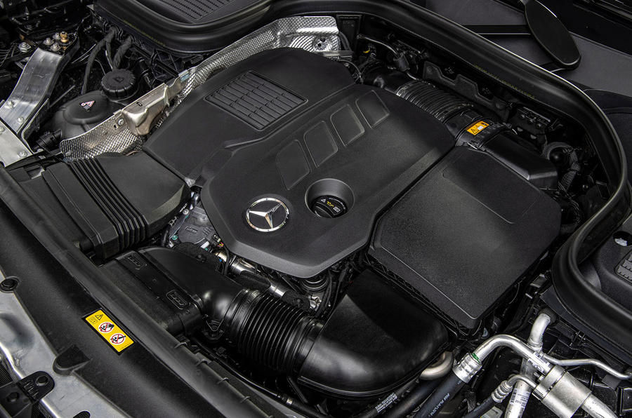 Mercedes-Benz GLC 300d 2019 first drive review - engine