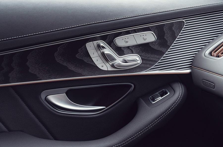 Mercedes-Benz EQC 400 2019 UK first drive review - door cards