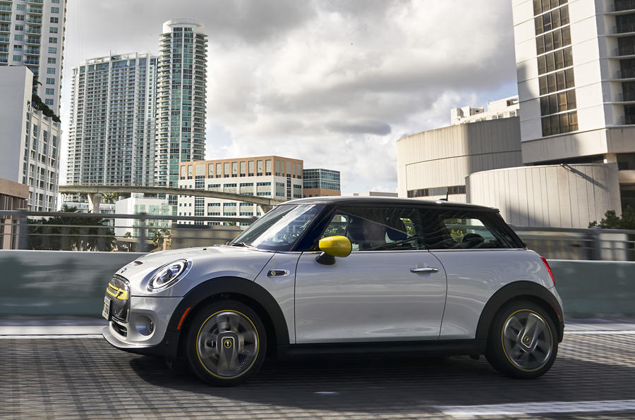 Mini Electric 2020 first drive review - on the road side