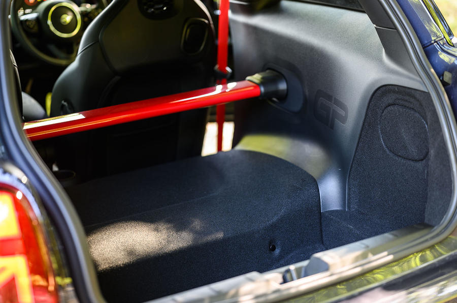 Mini JCW GP 2020 UK first drive review - rear interior