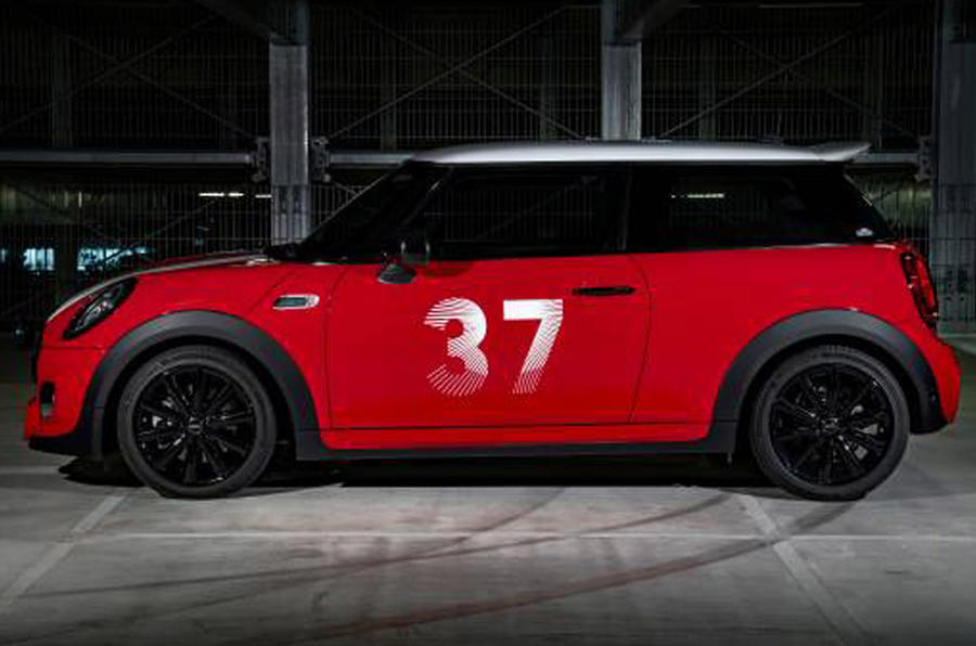 Mini Paddy Hopkirk Edition - side
