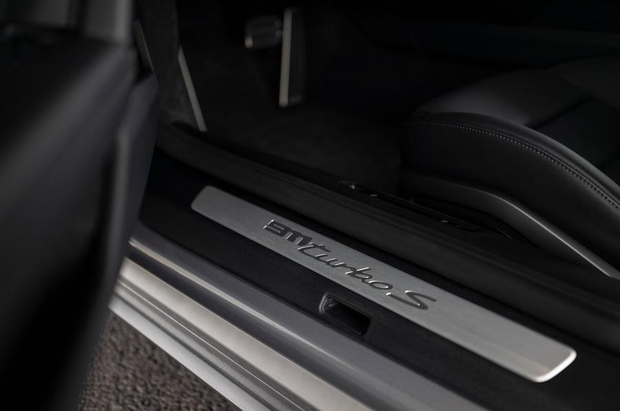 Porsche 911 Turbo S 2020 first drive review - kickplates