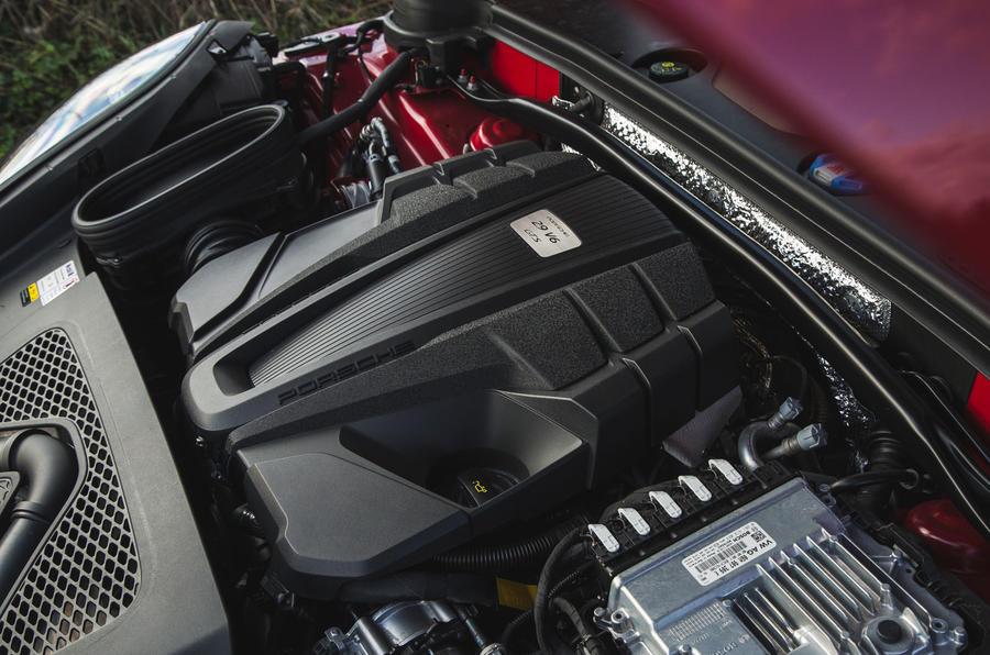 Porsche Macan GTS 2020 UK first drive review - engine