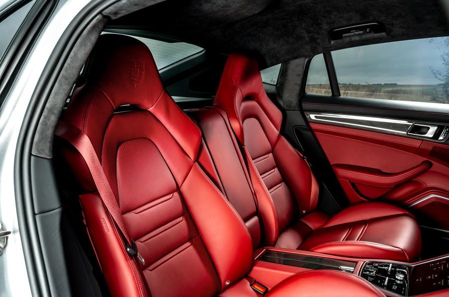 Porsche Panamera e-Hybrid 2020 UK first drive review - rear seats