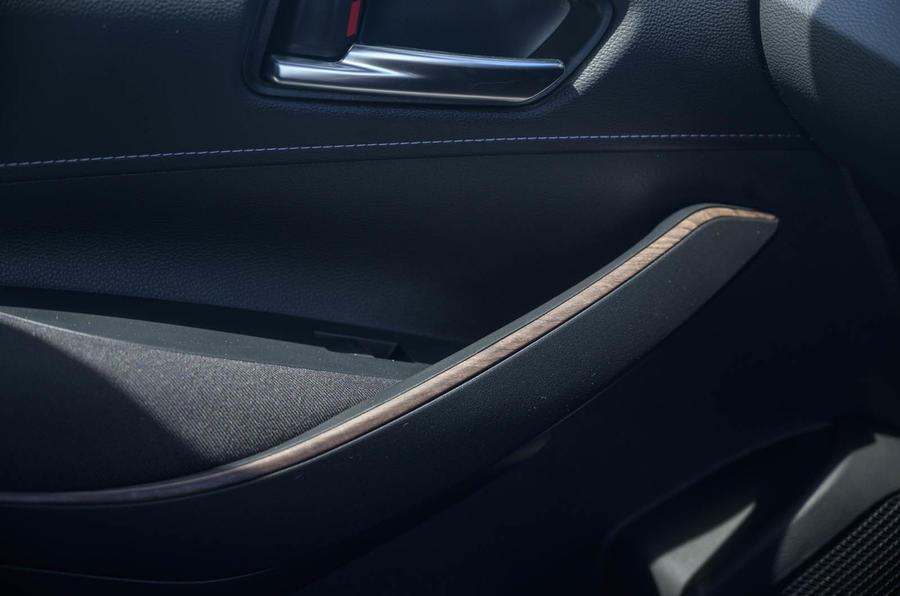 Toyota Corolla Trek 2020 UK first drive review - door cards