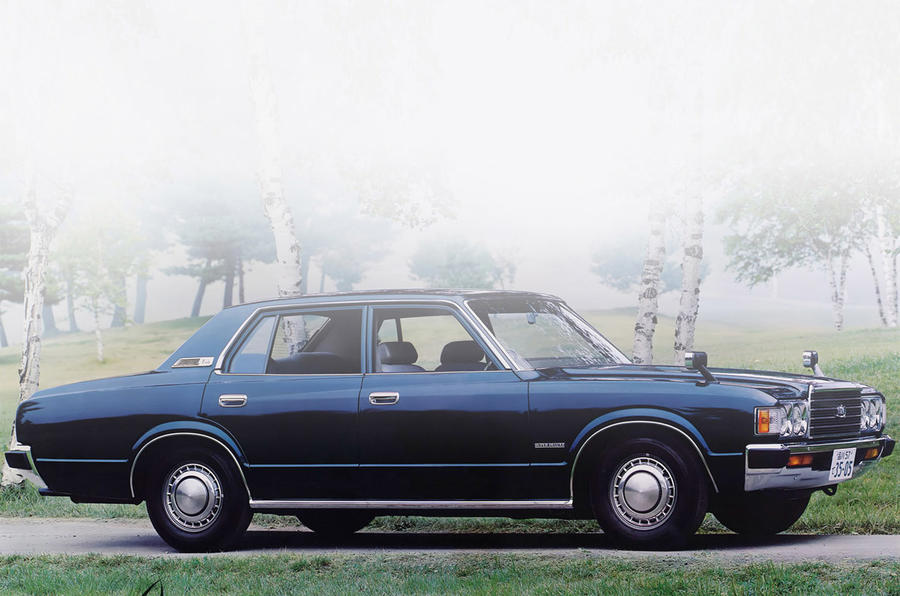 Toyota Crown 1974 - static front