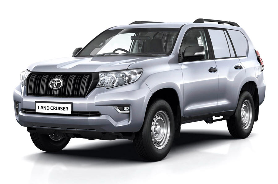 Toyota Land Cruiser - static front