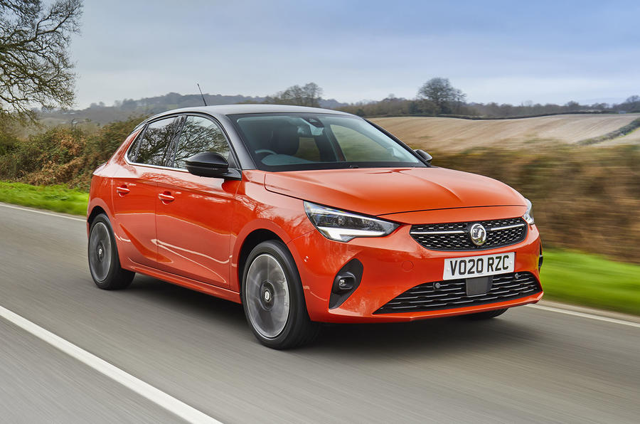 Vauxhall Corsa-e 2020 UK first drive review - on the road tracking