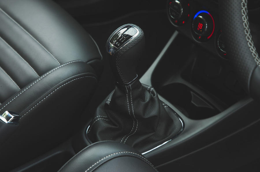Vauxhall Corsa GSi 2018 UK first drive review gearstick
