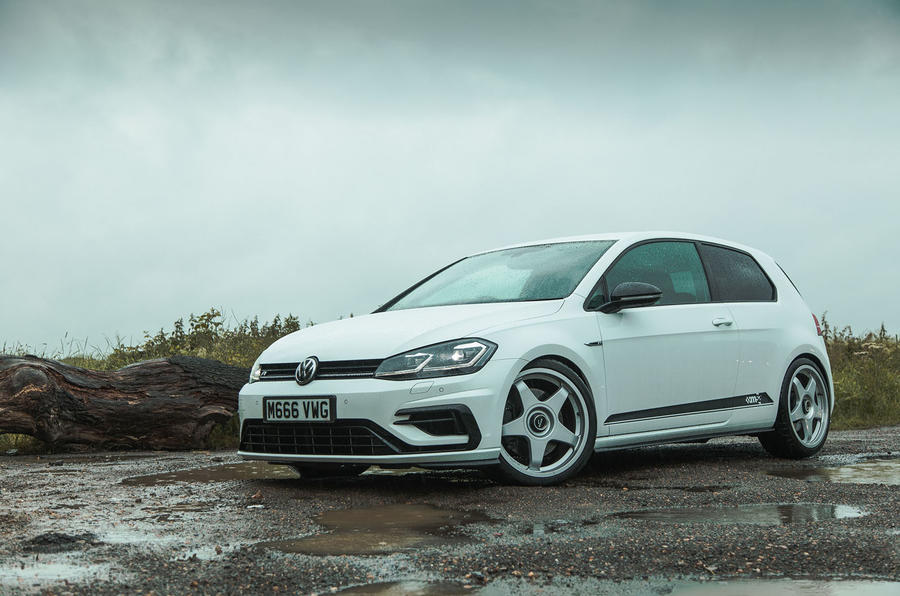 Volkswagen Golf R m52 2019 UK first drive review - static