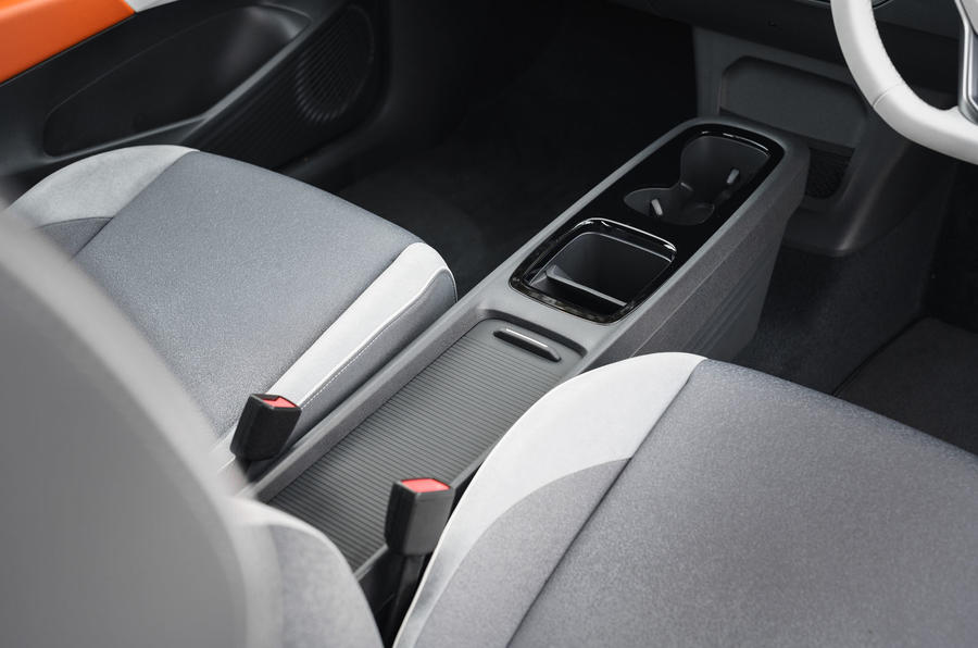 Volkswagen ID 3 2020 UK first drive review - centre console