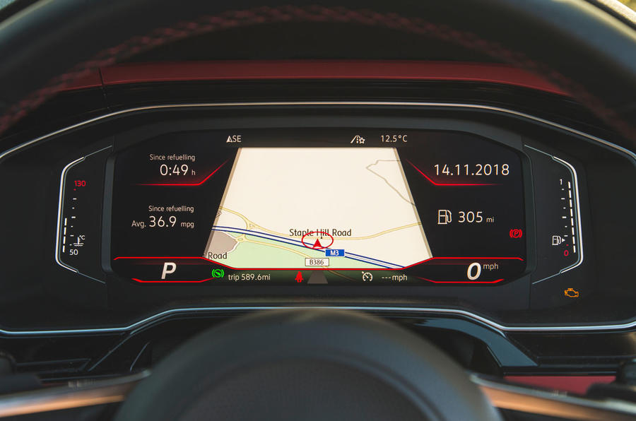 Volkswagen Polo GTI 2018 long-term review - instruments