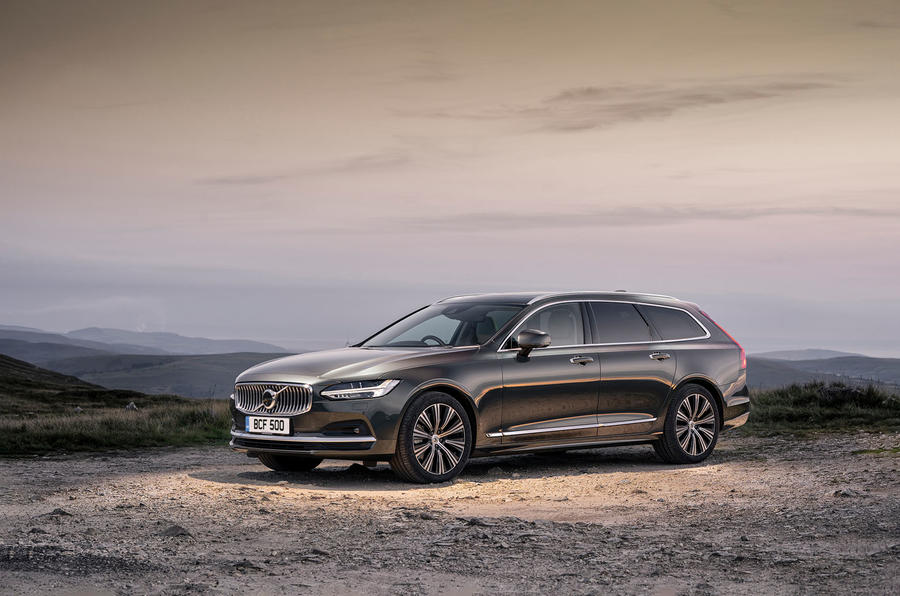 Volvo V90 B5 2020 UK first drive review - static