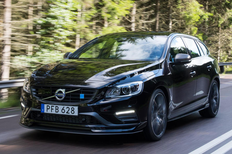 Volvo V60 POLESTAR gets carbon fibre aerodynamic enhancements for added downforce