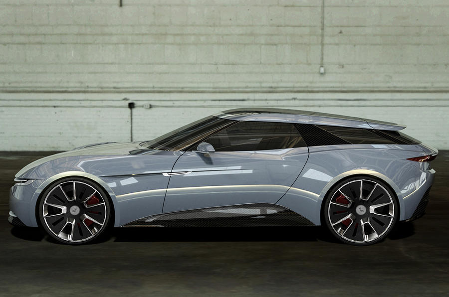 Alcraft GT revealed as British-developed EV shooting brake
