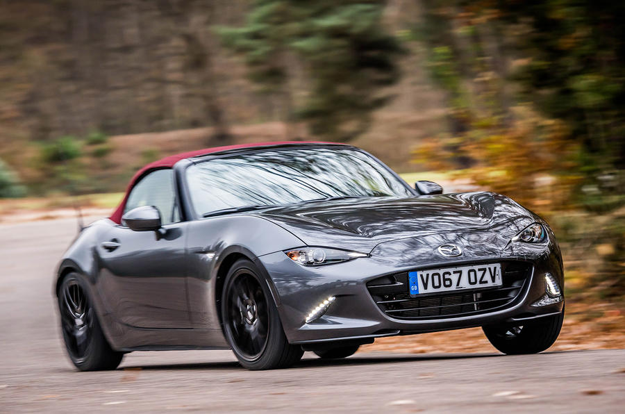 Mazda reveals MX-5 Z-Sport limited edition