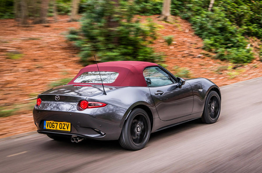 mazda mx 5 z sport limited edition model revealed autocar. Black Bedroom Furniture Sets. Home Design Ideas