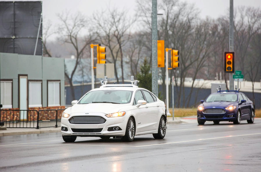 Self-driving Ford