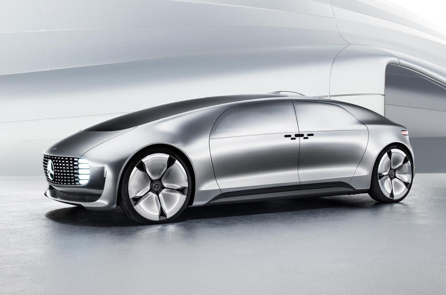 Mercedes-Benz F015 autonomous concept