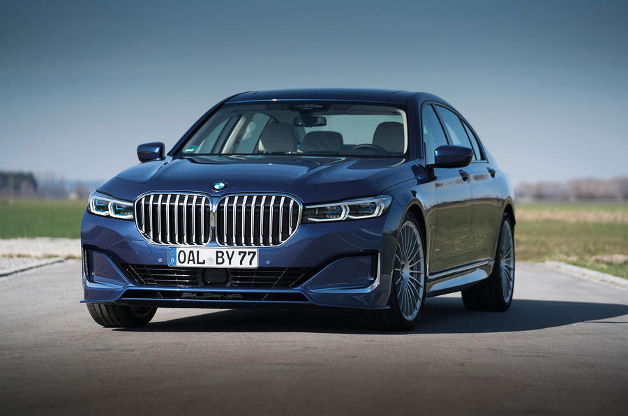Alpina B7 2019 first drive review - static front