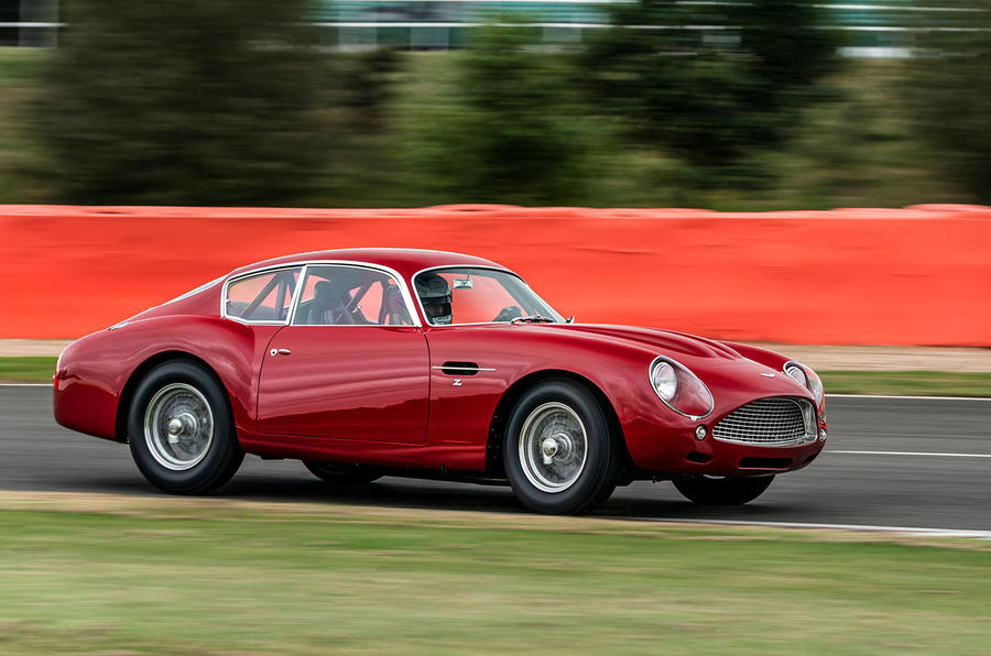 Aston Martin DB4 Zagato Continuation 2019 first drive review - track side