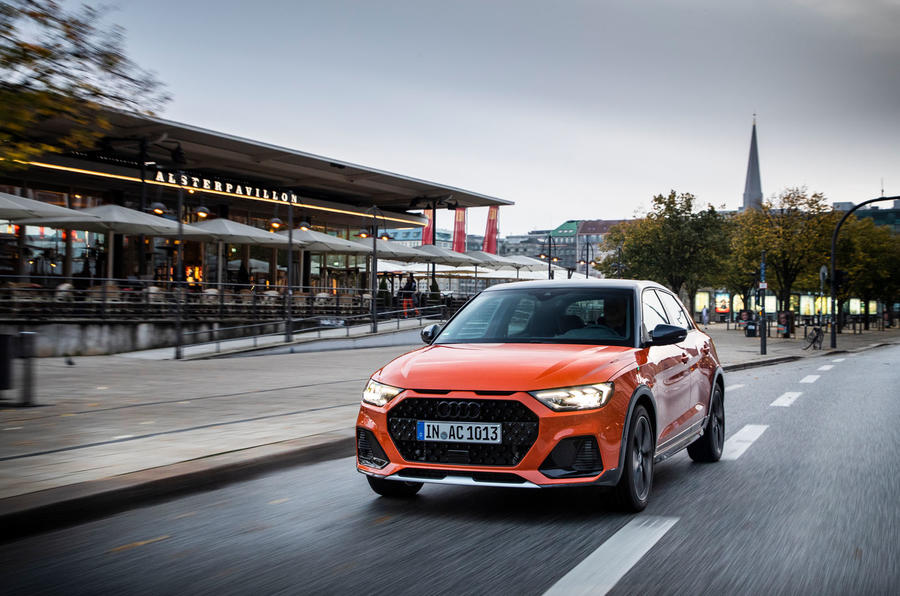 Audi A1 Citycarver 2019 first drive review - on the road front
