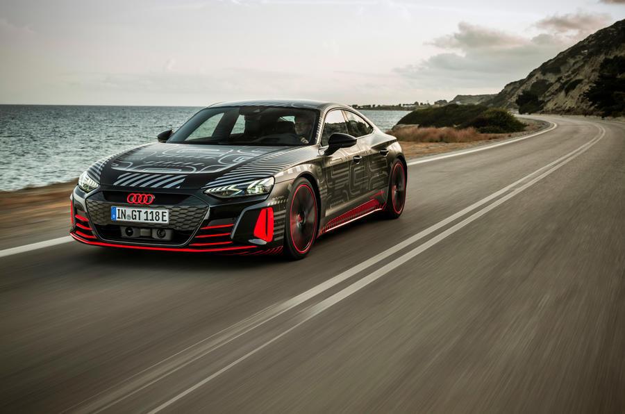 Audi RS e-tron GT front proto