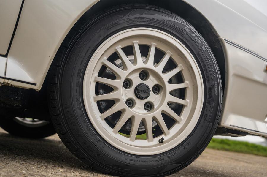 Audi Quattro - wheel