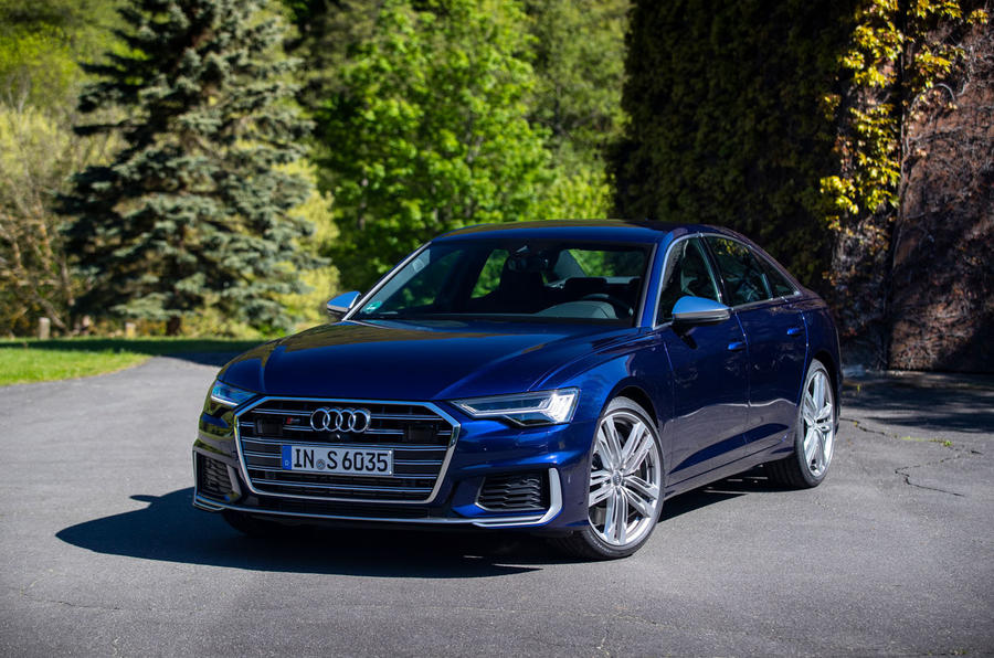 Audi S6 2019 first drive review - static front
