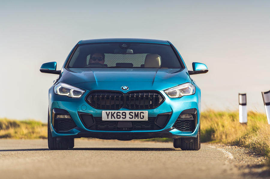 BMW 2 Series Gran Coupe 220d 2020 UK first drive review - on the road nose
