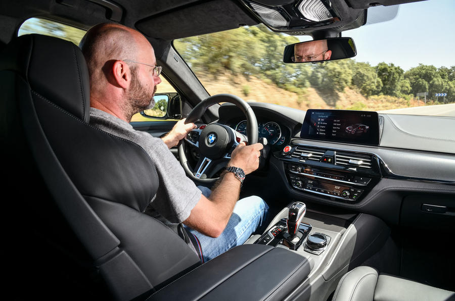 BMW M2 Competition 2018 first drive review Matt Prior driving