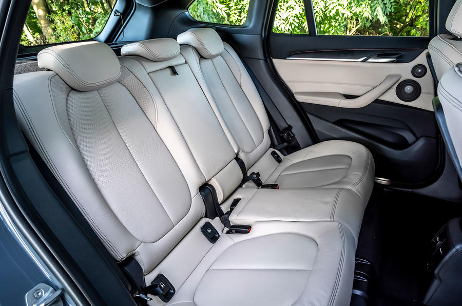BMW X1 25d 2019 first drive review - rear seats