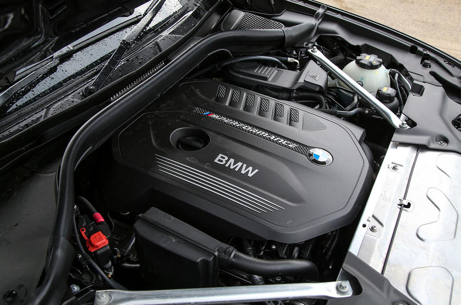 BMW X3 M40i 2018 UK review engine