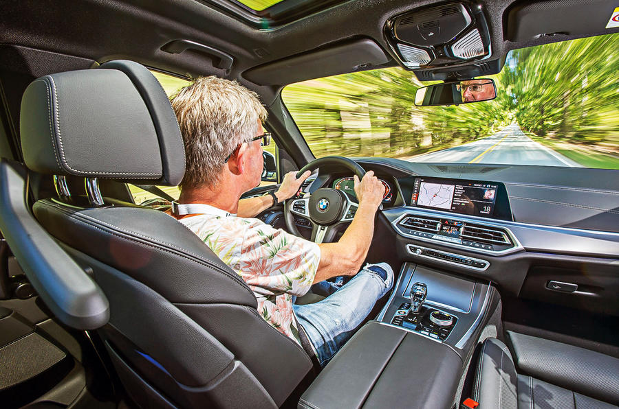 BMW X5 2019 first drive review Richard Bremner driving