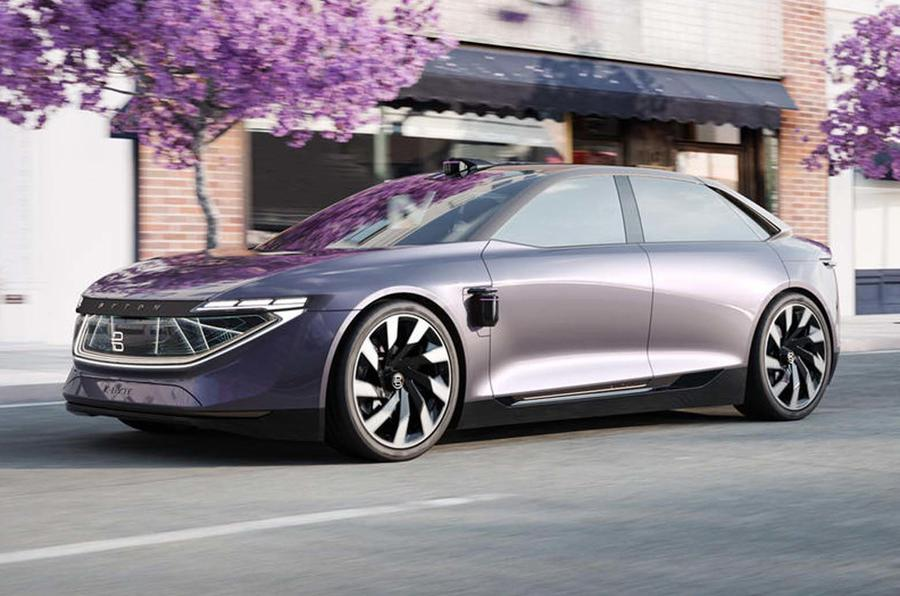 Byton K-Byte electric saloon concept