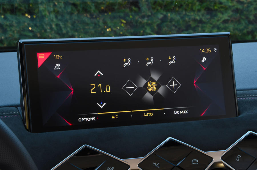 DS 3 Crossback 2019 first drive review - infotainment